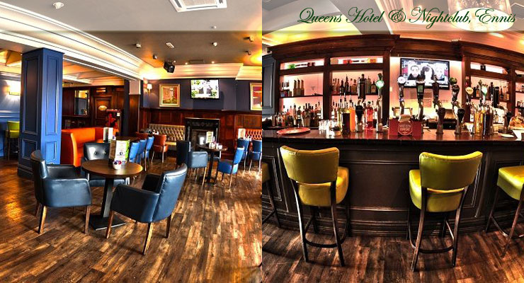 Queens Hotel, Ennis Bar