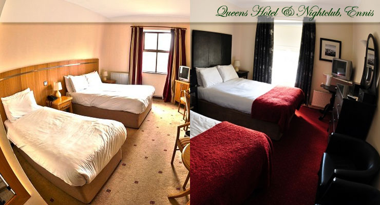 Queens Hotel, Ennis Accommodation