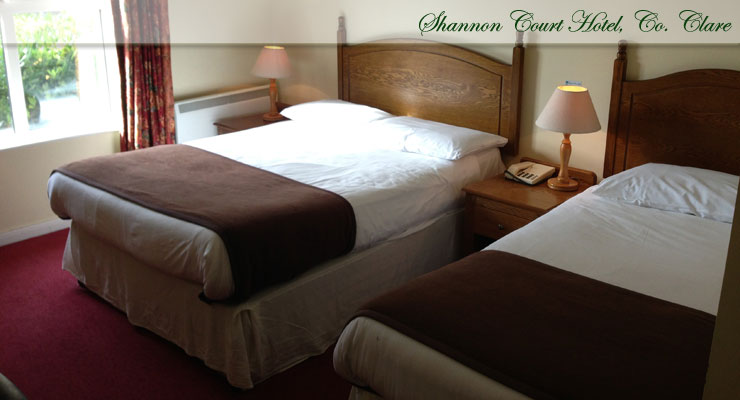 Shannon Court Hotel, Co. Clare Room