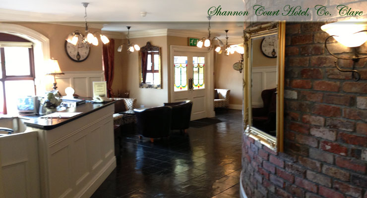 Shannon Court Hotel, Co. Clare Foyer