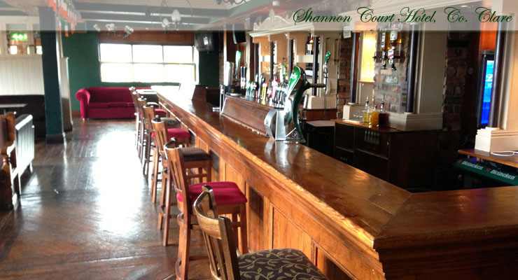 Shannon Court Hotel, Co. Clare Bar